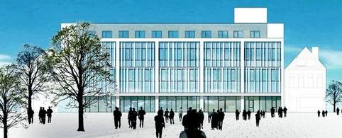 Visualisierung Stadthaus Vegesack